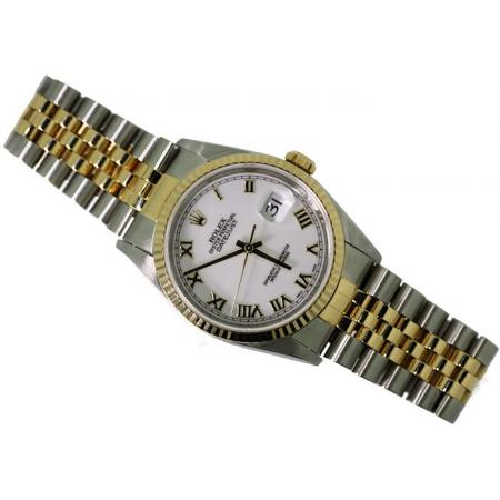 Oyster Perpetual Rolex, Date Just, Quick Set, Model#16233,
