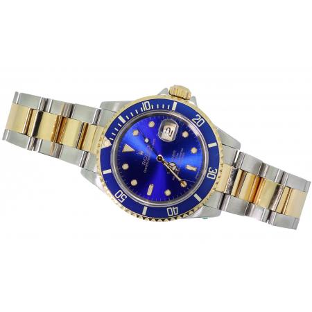 Blue Two Tone Submariner