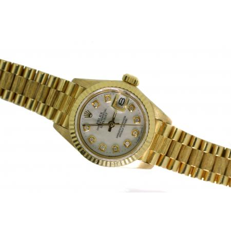 Ladies 18KT Yellow Gold President